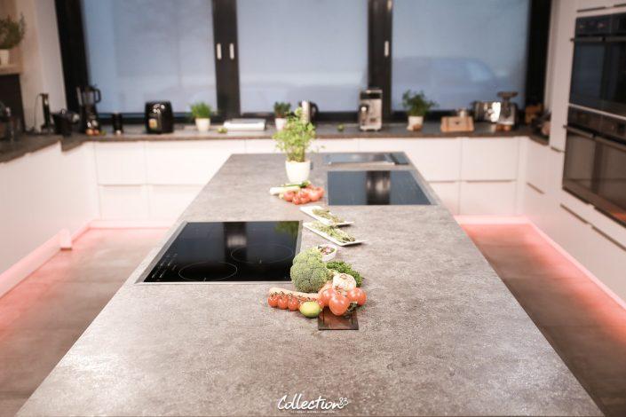Kochstudio in München während der Live Aufnahme der Kochshow mit Starkoch Ralf Jakumeit fotografiert von Collection83 Fotograf Michael Hausner